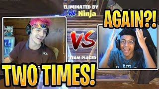 Ninja Kills Myth TWICE in the Summer Skirmish! - Fortnite Best and Funny Moments