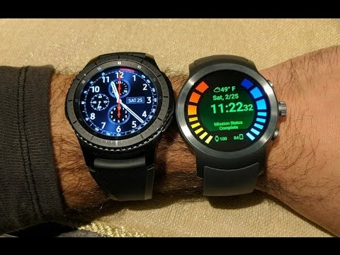 LG Watch Sport vs Samsung Gear S3 Smartwatch Comparison