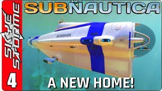 SUBNAUTICA Gameplay - Part 4 ► A NEW HOME & EXPLORING THE FLOATING ISLAND! ◀