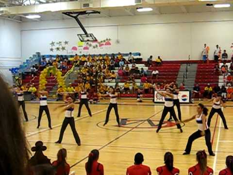 Chaminade Madonna Dance Team Pep Rally 2009