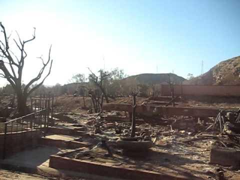 Oakridge Mobile Home Park fire- Sylmar, Ca - YouTube