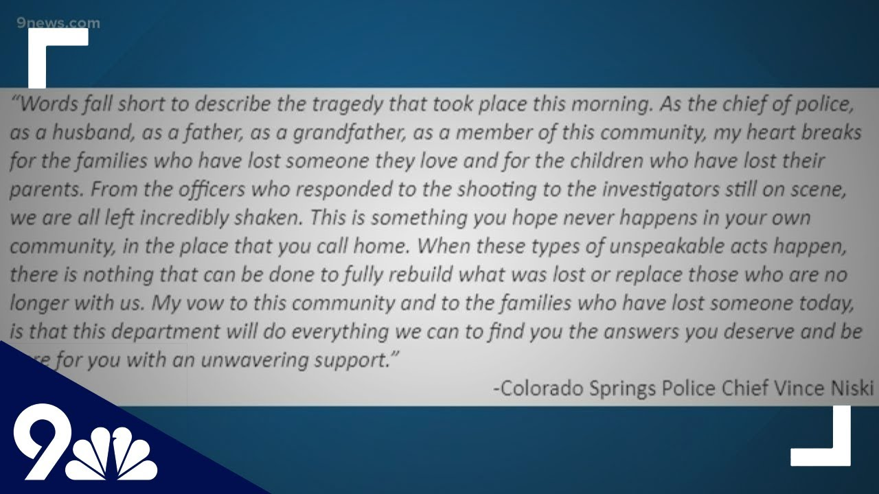 Colorado Springs shooting: 6 people were killed at a birthday party ...