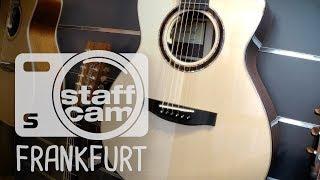 Staffcam: Lakewood-Gitarren im Custom-Shop-Raum bei session Frankfurt
