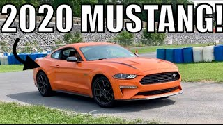 1st 2020 Mustang Track Experience! *high performance model*