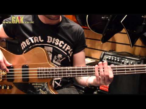 Gibson - 50th Anniversary Thunderbird Bass Demo at GAK
