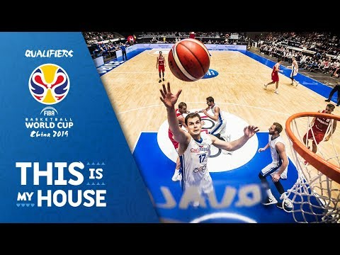 Czech Republic V Russia - Full Game - FIBA Basketball World Cup 2019 - European Qualifiers