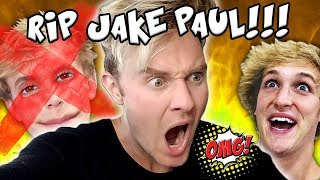"REACTING TO LOGAN PAUL - ""THE FALL OF JAKE PAUL"" - THE SECOND VERSE (FULL SONG)"