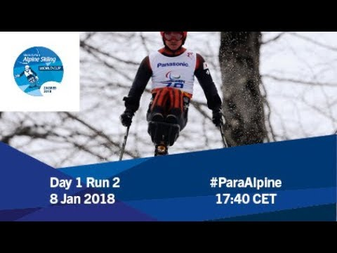 2018 World Para Alpine Skiing World Cup | Zagreb-Sljeme | Day 1 Run 2
