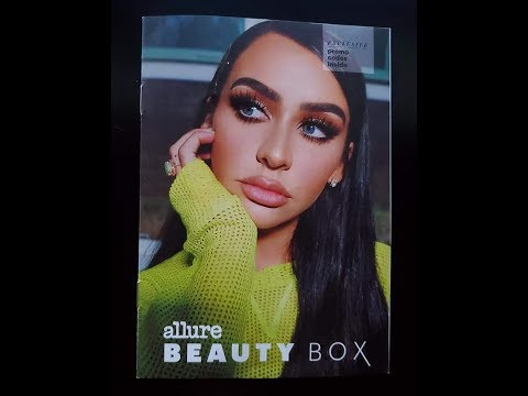 CARLI BYBEL INSPIRED | ALLURE BEAUTY BOX | UNBOXING WITH LULU thumbnail