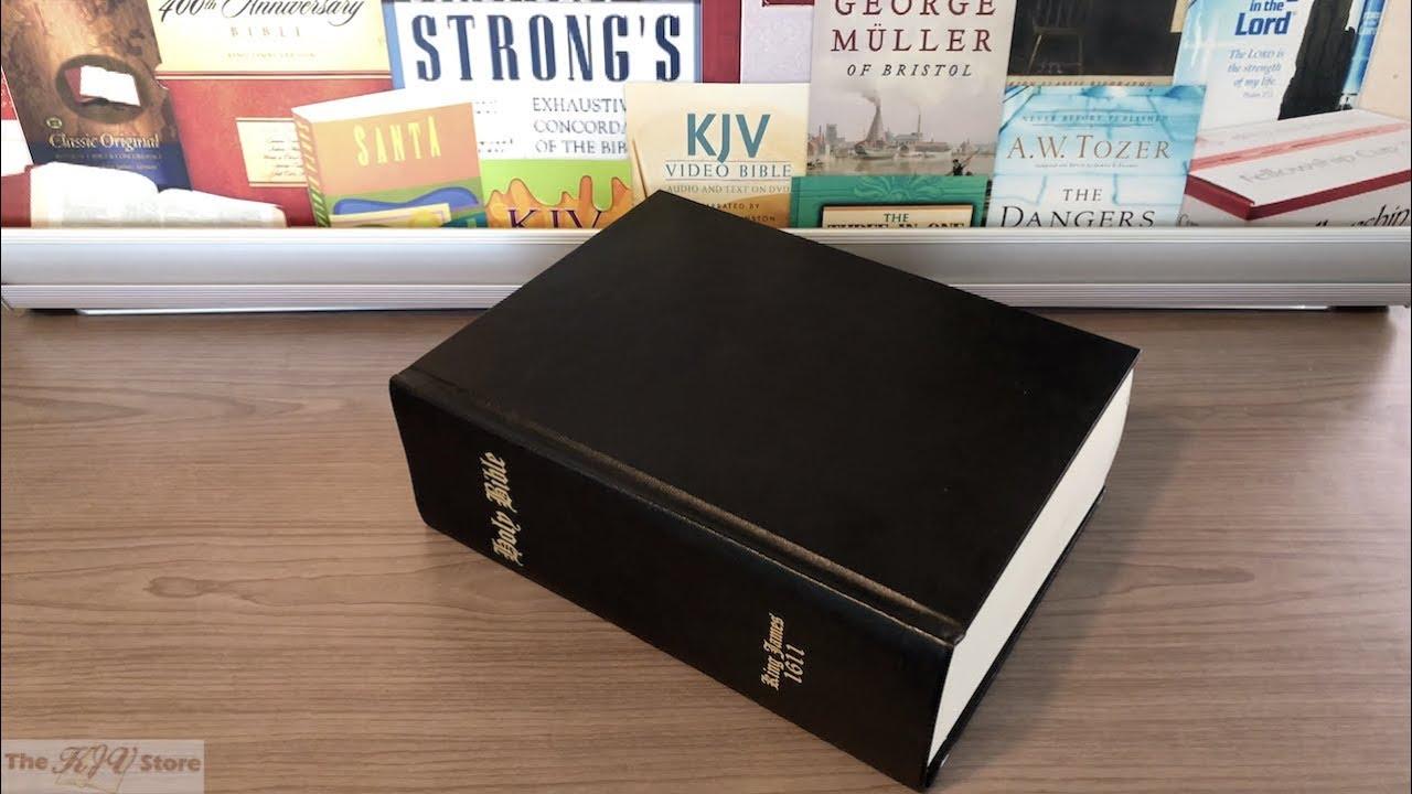 1611 King James Bible – Regular Facsimile Edition