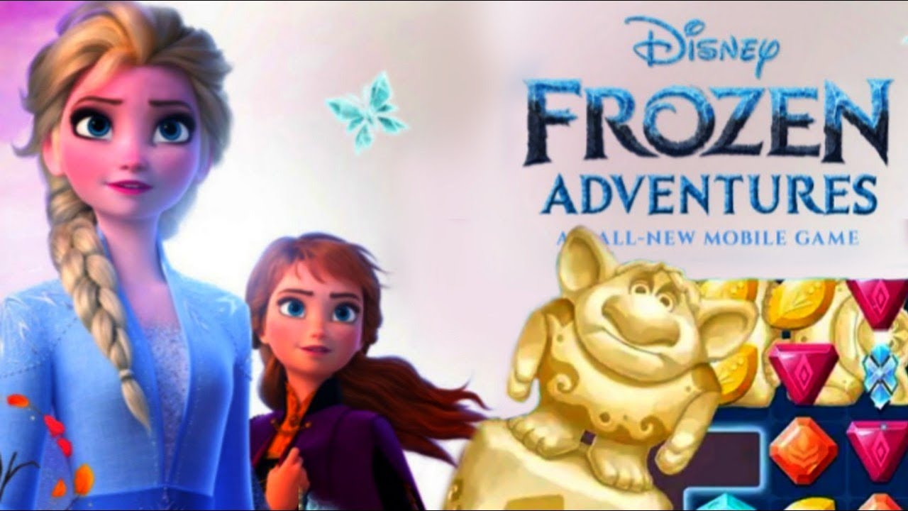 Disney FROZEN ADVENTURES Game 1 - Elsa! Anna! Olaf! [Gameplay - Walkthrough - Android - IOS]