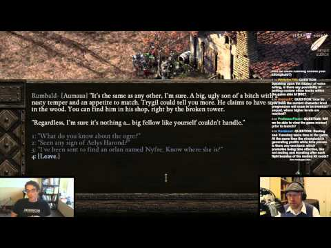 Arv's interview with Josh Sawyer, Project Director for Obsidian's Pillars of Eternity!