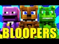 FNAF World - BLOOPERS (Minecraft Roleplay)