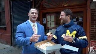 bricco With Special Guest John Cena  Barstool Pizza Review