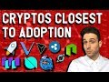Which crypto will be adopted first? $XRP $XLM $VET $WTC $ONT $ICX $TRX $NEO $DRGN