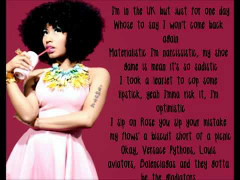 Nicki Minaj - Muny Lyrics