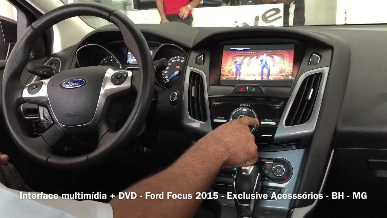 Interface Multimidia Ford Focus 2015 Exclusive Acessorios Bh