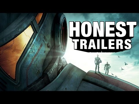 Honest Trailers - Pacific Rim poster