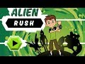 Ben 10 - Alien Rush Part 1 (Cartoon Network Games)