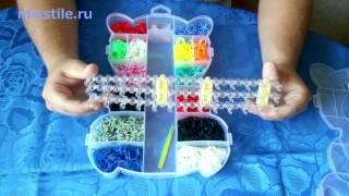 Набор резинок для вязания браслетов Rainbow Loom Мишка на 6000 шт. Обзор от mixstile.ru