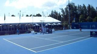 Urszula Radwanska vs Agnieszka Radwanska WTA Sydney 2012 2/2