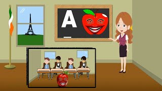 A for apple,b for ball,c for Cat, Alphabets,A to Z, Alphabets for Hindi, phonics, phonics song,