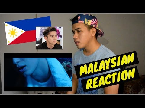MALAYSIAN GUY REACTION | The Life - James Reid (Official Music Video)