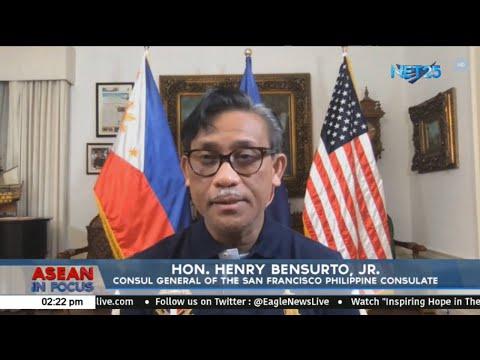 Hon. Henry Bensurto Jr., Consul General Of The San Francisco Philippine Consulate
