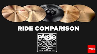 PAISTE CYMBALS - 2002 Ride Comparison