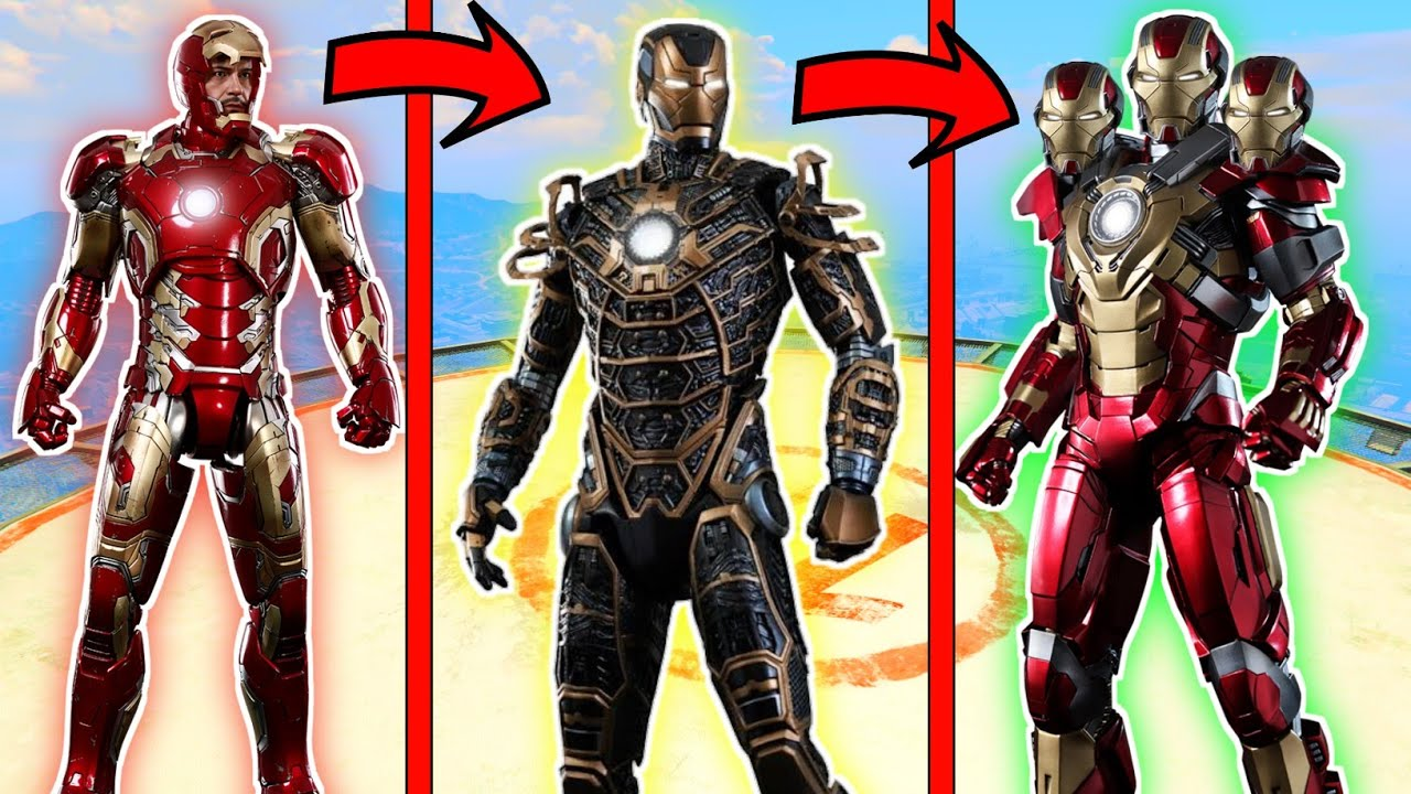 Franklin Stolen Upgraded Giant Iron Man Suit in GTA V (Hindi)   GTA5 AVENGERS   A.K GAME WORLD