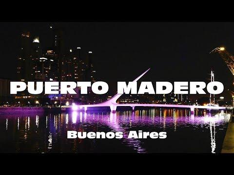 Paseo por PUERTO MADERO - Buenos Aires