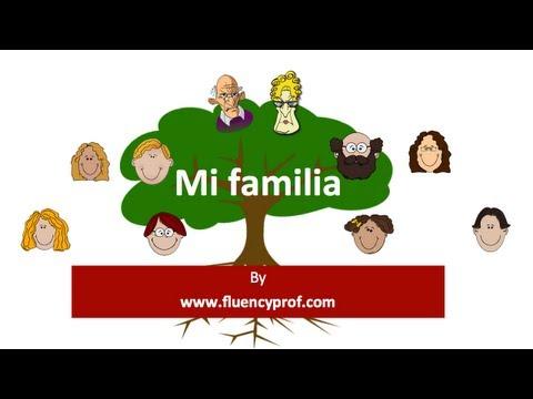 family essay in spanish