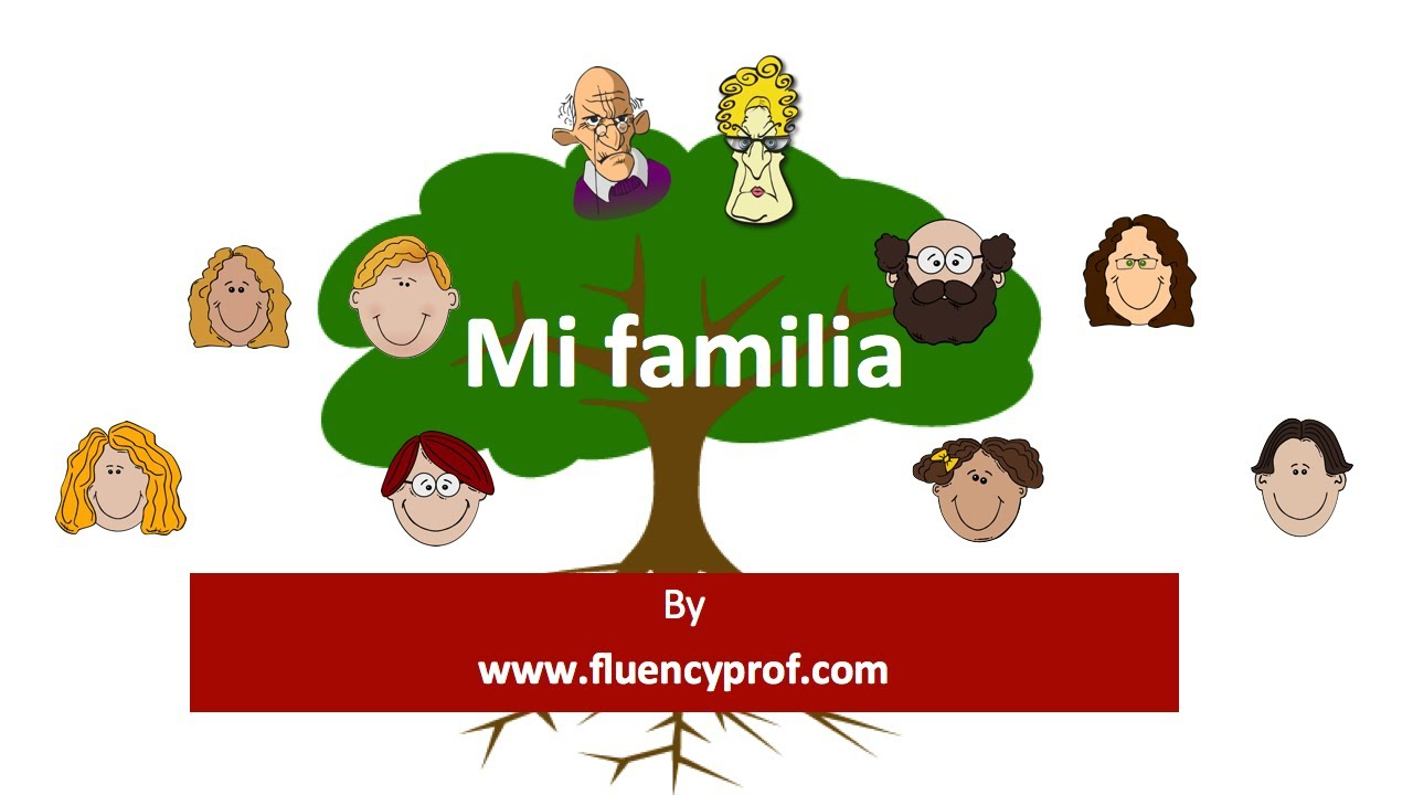 la familia basic spanish lesson