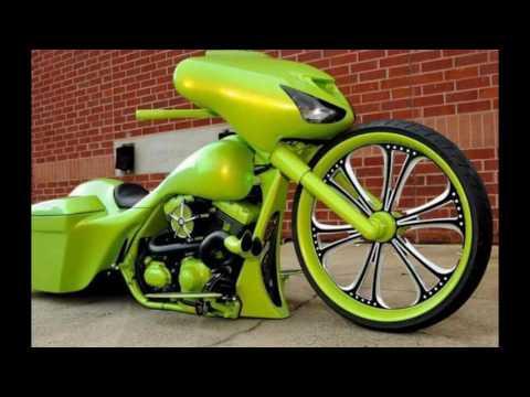 Custom Harley Davidson bike  exhibition Daytona