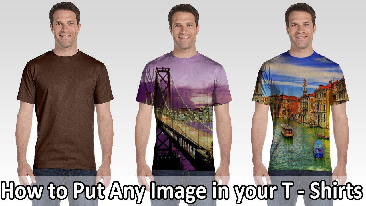 how to put text on a shirt in photoshop