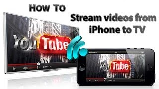 How to stream/pair videos from iPhone to TV wireless thumbnail