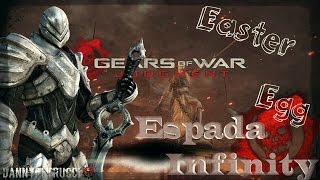 """Gears Of War Judgment"" -- / *Easter Egg* / *Espada Infinity* / (Xbox 360)"