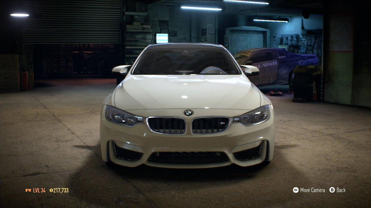 Need For Speed BMW M Test Drive Gameplay XboxONE - Bmw 2014 m4