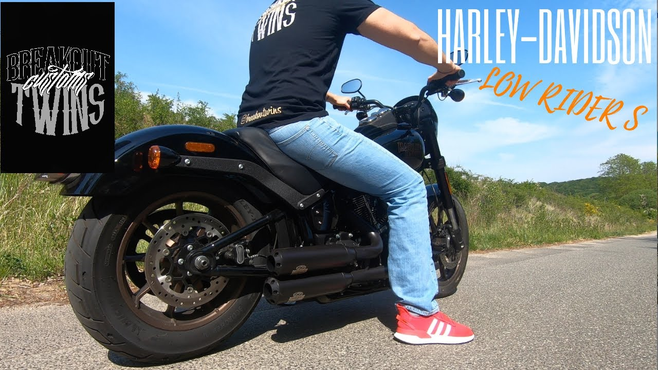 Harley-Davidson 2020 Low Rider S Exhaust - YouTube