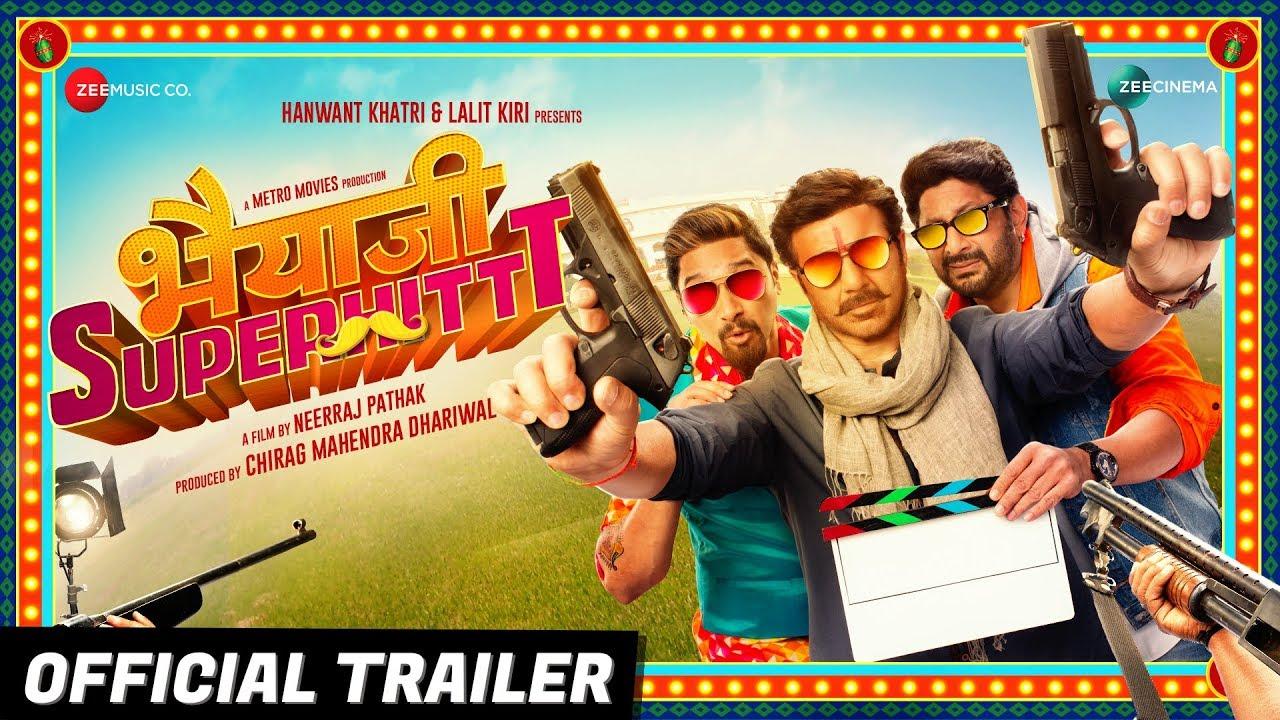 Bhaiaji Superhit - Official Trailer  | Sunny Deol, Preity Zinta, Arshad Warsi & Shreyas T | Bhai