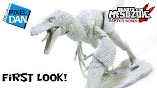 Beasts of the Mesozoic Build A Raptor 1/6 Scale Action Figure First Look