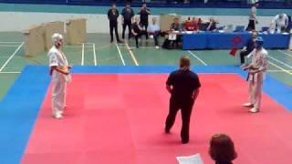 Oyama Cup 2008 Kyokushin - Frederik 3 (Yellow belt)