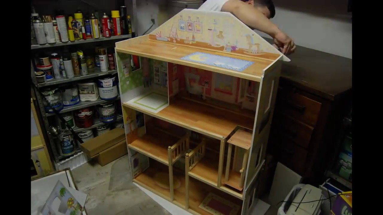 Building The Kidkraft Majestic Mansion Dollhouse Play Set Youtube