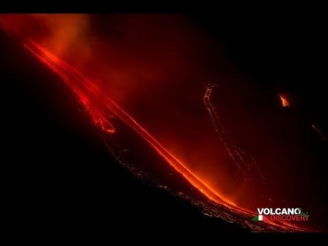 La erupción del volcán Etna causa terremotos y cierra el aeropuerto en Sicilia