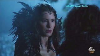 """Once Upon A Time 6x09 Belle Rumple and His Black Fairy Mother """"Changelings"""" Season 6 Episode 9"""