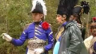 На съемках фильма Ржевский против Наполеона