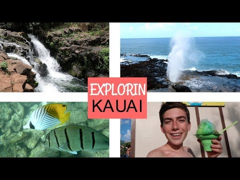 Snorkeling, Spouting Horn, Hoopii Falls & More! // Kauai Vlog Day 5