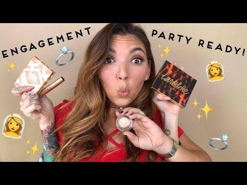 engagement party makeup w/ A(LEX) | tarte talk