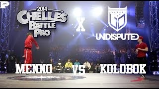 Undisputed x Chelles Battle Pro 2014 | Menno vs Kolobok