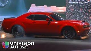 Video: El Dodge Challenger SRT Demon 2018 desde el Auto Show Nueva York 2017